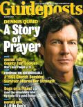 Dennis Quaid on the cover of Guideposts (United States) - August 2011