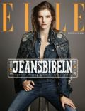 Astrid Baarsma on the cover of Elle (Sweden) - October 2013