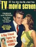 Fabian on the cover of TV and Movie Screen (United States) - March 1960