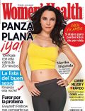 Martha Higareda on the cover of Womens Health (Mexico) - March 2014