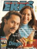 Diego Torres, Diego Torres, Laura Novoa on the cover of Eres (Argentina) - March 1999