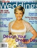 Courtney Thorne-Smith on the cover of Instyle Weddings (United States) - March 2001