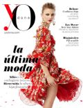 Joanna Koltuniak on the cover of Yo Dona (Spain) - February 2014