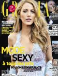 Blake Lively on the cover of Grazia (France) - May 2014