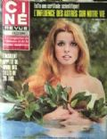 Senta Berger on the cover of Cine Tele Revue (France) - March 1970