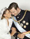 Princesa Letizia de Asturias and Felipe de Borbon