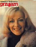 Barbara Brylska on the cover of Przyjazn (Poland) - February 1978
