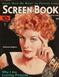 Katharine Hepburn on the cover of Screen Book (United States) - November 1934
