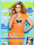 Demi Lovato on the cover of Cosmopolitan (Lithuania) - March 2014