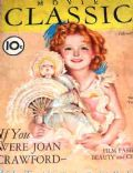 Shirley Temple on the cover of Movie Classic (United States) - February 1936