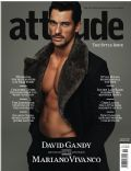 David Gandy on the cover of Attitude (United Kingdom) - November 2011