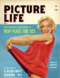 Marilyn Monroe on the cover of Picture Life (United States) - February 1955