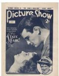 Janet Gaynor on the cover of Picture Show (United Kingdom) - August 1933