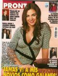 Agustina Cherri on the cover of Pronto (Argentina) - August 2007