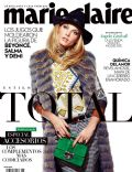 Angela Lindvall on the cover of Marie Claire (Mexico) - November 2013