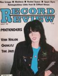 Chrissie Hynde on the cover of Record Review (United States) - August 1980