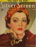 Sylvia Sidney on the cover of Silver Screen (United States) - April 1937