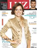 Andrea Pietra on the cover of Luz (Argentina) - April 2011