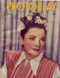 Anne Baxter on the cover of Photoplay (United States) - July 1945