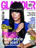 Lily Allen on the cover of Glamour (France) - November 2009