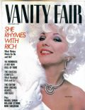 Joan Collins on the cover of Vanity Fair (United States) - December 1984