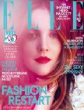 Drew Barrymore on the cover of Elle (Czech Republic) - March 2014