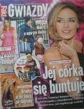 Natasza Urbanska on the cover of Gwiazdy (Poland) - April 2013