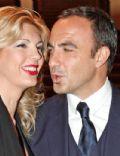 Nikos Aliagas and Tina Grigoriou