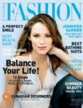 Jennifer Garner on the cover of Fashion (Canada) - June 2003