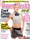 Pink on the cover of Womens Health (Turkey) - November 2013