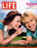 Owen Wilson, Rachel McAdams, Rachel McAdams and Owen Wilson on the cover of Life (United States) - July 2005