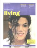 Michael Jackson on the cover of Sunday Mail Living (Cyprus) - December 2012