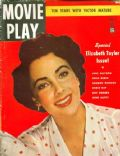 Elizabeth Taylor on the cover of Movie Play (United States) - May 1950