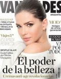 María Eugenia Suárez on the cover of Vanidades (Argentina) - June 2014