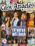 Gastón Dalmau, Juan Pedro Lanzani, María Eugenia Suárez, Mariana Espósito, Nicolas Riera on the cover of Casi Angeles (Argentina) - April 2010