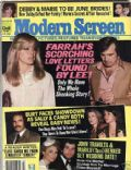 Farrah Fawcett on the cover of Modern Screen (United States) - July 1979
