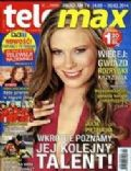 Julia Pietrucha on the cover of Tele Max (Poland) - February 2014
