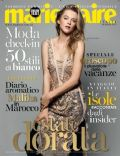 Hanna Wahmer on the cover of Marie Claire (Italy) - July 2013