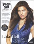 Lake Bell on the cover of Page Six (United States) - March 2008