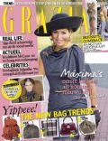 Queen Maxima Of Netherlands on the cover of Grazia (Netherlands) - October 2013