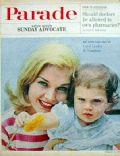 Carol Lynley on the cover of Parade (United States) - August 1963