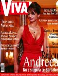 Andreea Raicu on the cover of Viva (Romania) - December 2004