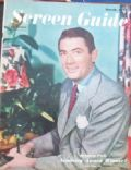 Gregory Peck on the cover of Screen Guide (United States) - March 1947