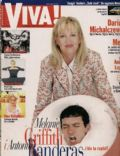 Antonio Banderas, Antonio Banderas and Melanie Griffith, Melanie Griffith on the cover of Viva (Poland) - November 1999