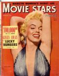 Marilyn Monroe on the cover of Movie Stars (United States) - March 1954
