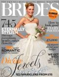 on the cover of Brides (United Kingdom) - March 2013