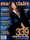 Penélope Cruz on the cover of Marie Claire (Poland) - November 2002