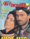 Gabriel Corrado, Viviana Saccone on the cover of TV Y Novelas (Argentina) - May 1997