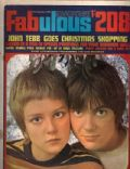 John Perry, Paula Boyd, Paula Boyd and John Perry on the cover of Fabulous 208 (England) - December 1968