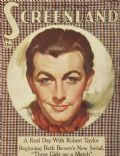 Robert Taylor on the cover of Screenland (United States) - December 1936